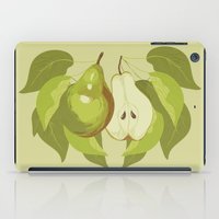 pear iPad Cases featuring Pear by Marlene Pixley