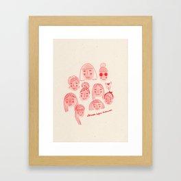 Knope Code Framed Art Print