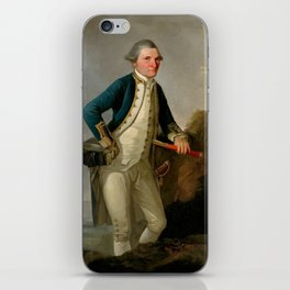 Captain James Cook Portrait iPhone Skin