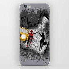 Hailing A High Five iPhone & iPod Skin