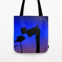 le petit prince Tote Bags featuring Le Petit Prince by mariavilla