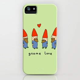 Gnome Love iPhone Case