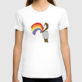 LOVE in the shorts T-shirt