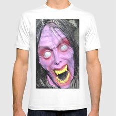 Scary Lady MEDIUM Mens Fitted Tee White