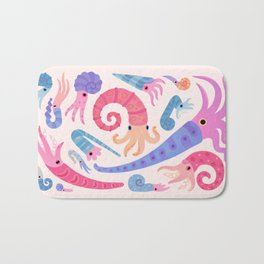 Ancient cephalopods Bath Mat