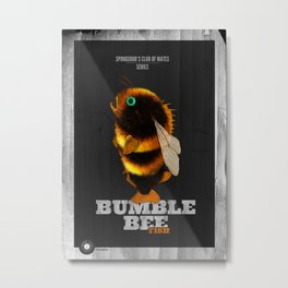 Bumblebee Fish Metal Print