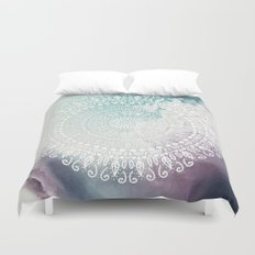 RAINBOW CHIC MANDALA Duvet Cover