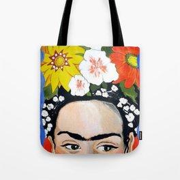 My Frida's Flowers Tote Bag