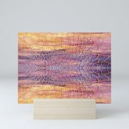 Webbed Sunset Mini Art Print