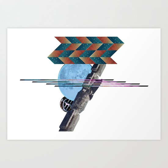 2001 a space odyssey Art Print