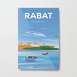 Rabat Morocco Metal Print