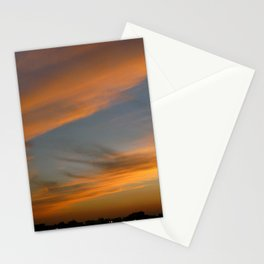 Sunset Clouds Photography Stationery Cards