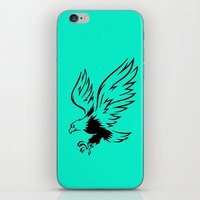 eagle iPhone & iPod Skins featuring Eagle  by ArtSchool
