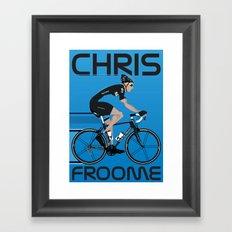 Chris Froome Framed Art Print