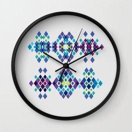 Diamond collection #1 Wall Clock