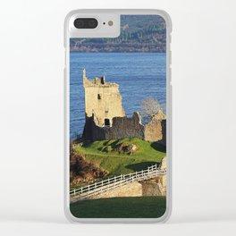 Urquhart Castle - Scotland Clear iPhone Case