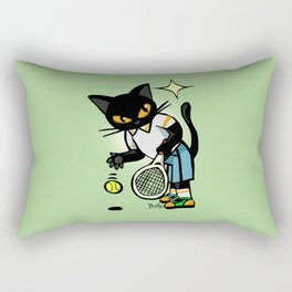 Tennis player Rectangular Pillow