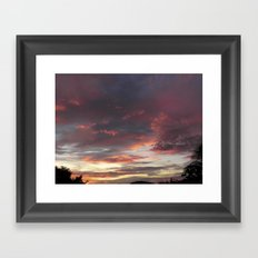 Caribbean Sunset II Framed Art Print