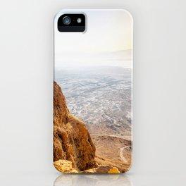 Judean Desrt sunrise iPhone Case