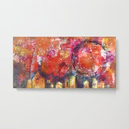 Sky Container Metal Print