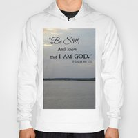 scripture Hoodies featuring Hilton Head Island, Scripture by Stephanie Stonato