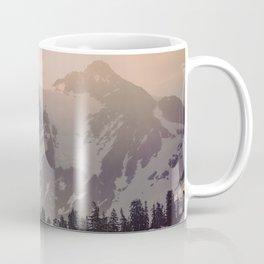 Pink Mountain Morning - Nature Photography Coffee Mug