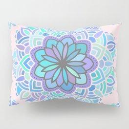 Heart Chakra Maldala Pattern Pillow Sham