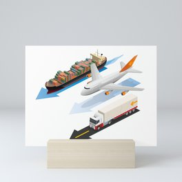 transportation Mini Art Print