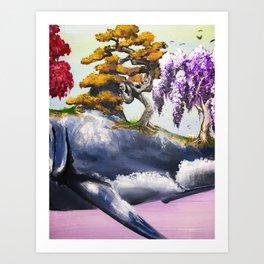 Aspidochelone Part II Art Print