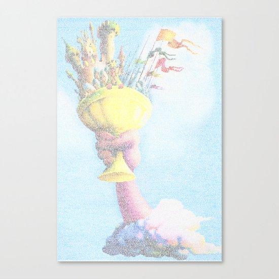 Monty Python & The Holy Grail. The Script Print! Canvas Print