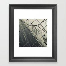 City in detail Framed Art Print