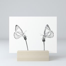 Best Buds Butterflies Mini Art Print