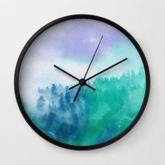 Enchanted Scenery 3 Wall Clock