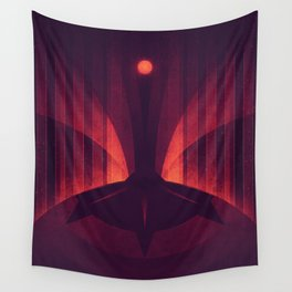 Io - The Sulfur Plumes Wall Tapestry