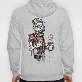 Zomb Hipster Hoody