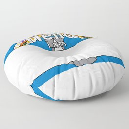 Hello I am from Northern Mariana Islands Floor Pillow