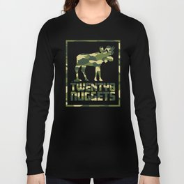 Camo Moose Long Sleeve T-shirt