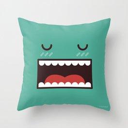 Mr Sleepwalker Throw Pillow