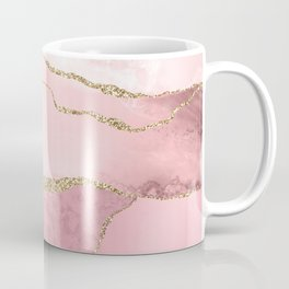 Blush Marble Art Landscape Coffee Mug