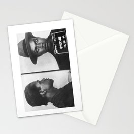 Malcolm X Mugshot Stationery Cards