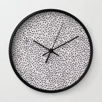trippy Wall Clocks featuring trippy by Eliza L