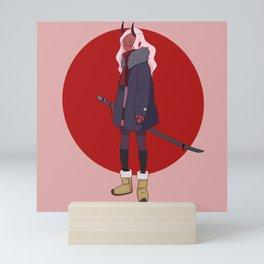 Samurai Mini Art Print