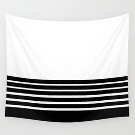 B1ack stripes style Wall Tapestry