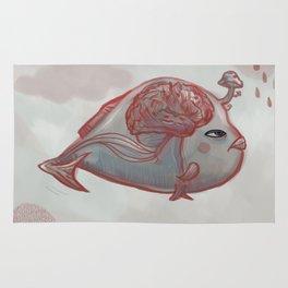 Brain Fish Rug