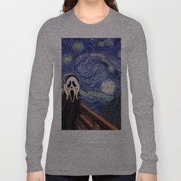 Scream Scary movie Long Sleeve T-shirt