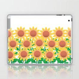 Sunflower_A Laptop & iPad Skin