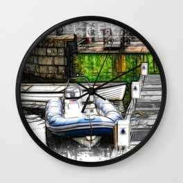 Piers End Wall Clock