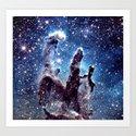 Pillars of Creation Smokey Blues by vintageby2sweet