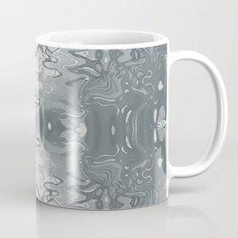 Funhouse Chrome Watercolor Abstract Coffee Mug