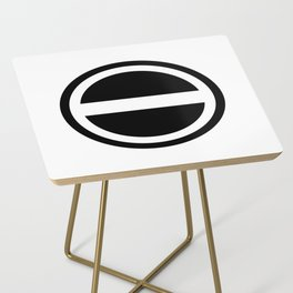 Curtis Holt Logo (Black) Side Table